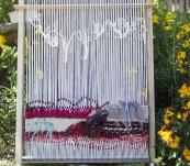 Cadre à tapisserie ou tissage 40×70