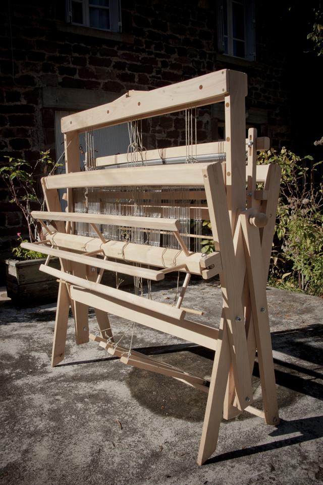 m tier tisser pliant filature des landes catusse. Black Bedroom Furniture Sets. Home Design Ideas