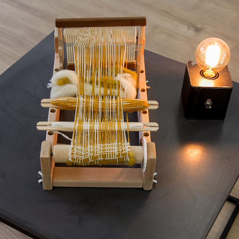 m tier tisser p n lope filature des landes catusse. Black Bedroom Furniture Sets. Home Design Ideas